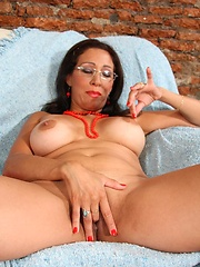 Hot Latin Housewife sluts takes a piledriver in the pooper!