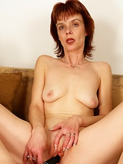 Hot 50 year old slut fucks younger man