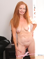 Old grandma loves to get her cunt crammed full of younger meat!