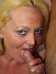 The old broad and her young lover match up well in the mature hardcore gallery