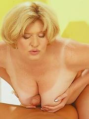Sharana Skyler has an underwear salesman call and show her some samples