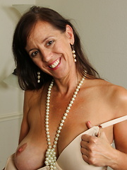 Naughty American housewife playing with her wet pussy