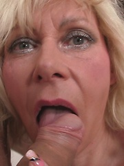 Cock hungry mom sucking young boy dick