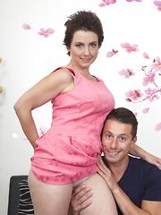 Horny housewife doing the guy next door