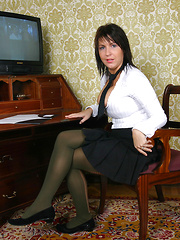 Kora in Student uniform