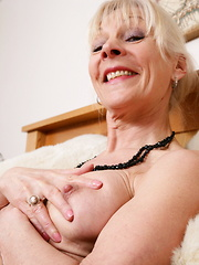 Naughty British mature lady getting horny